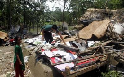 ボラ県で救援物資不足