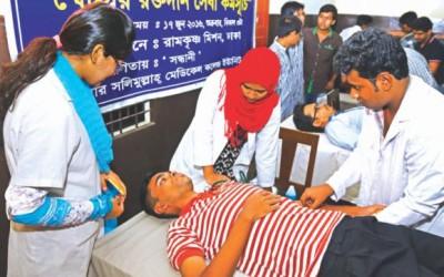 ラマダン中の献血