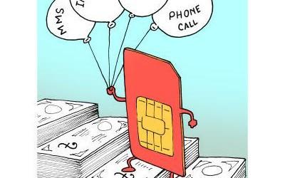 携帯料金値上げ(前)