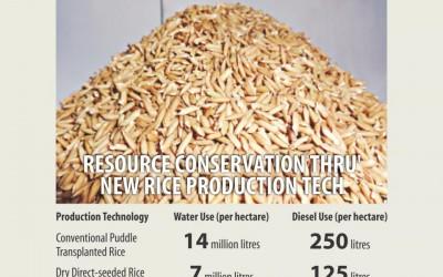 ボロ米栽培の節水技術(後)