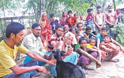 インドからバングラへ避難