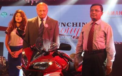 ACI、ヤマハのバイク発表