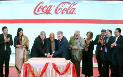 コカコーラ6千万㌦の工場開設
