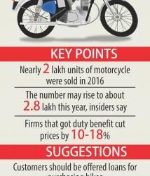 オートバイ国内製造へ前進