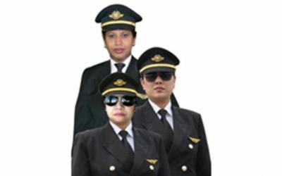 女性乗組員だけで初フライト