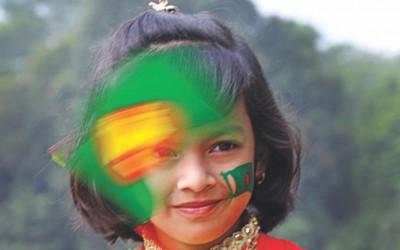 独立記念日を祝う