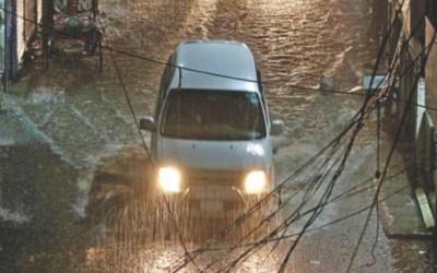 ここ30年で一番多い4月の雨