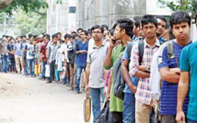 学士・学部生の9%が失業