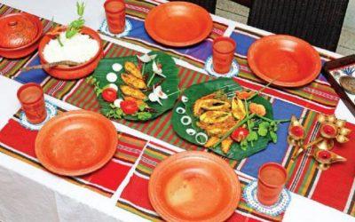 ベンガルスタイルの食卓