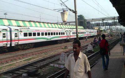 2019年、インド行き鉄道運行