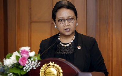 インドネシア外相、訪問予定