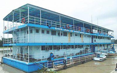 高品質医療を提供する病院船