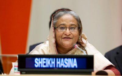 首相、女性の地位向上を強調