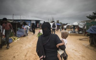 難民キャンプ拡張