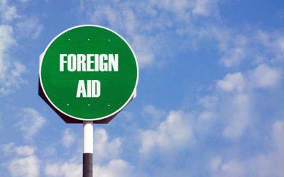 7-8月期は対外援助が増加