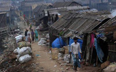 スラム居住者用アパート建設