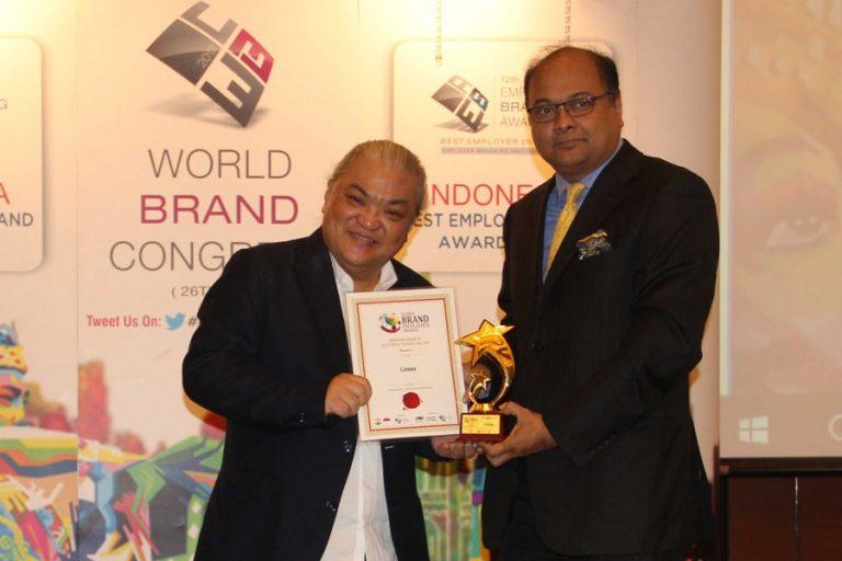 Linnexに世界ブランド賞