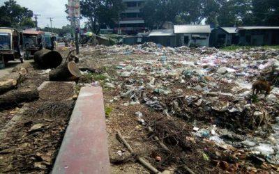 乱暴な廃棄物処理