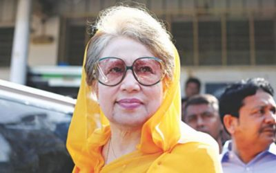 孤児院グラフトケース:SCはKhaleda Ziaの裁判で道を開けます