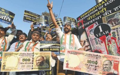 現金禁止の1年後、インドの黒マネー市場は繁栄している