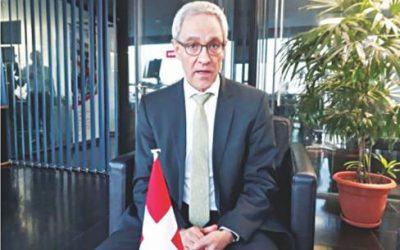 投資環境改善を:スイス大使