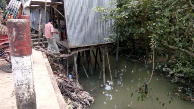 消失の危機にある運河