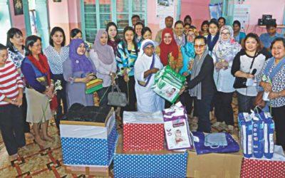 ALA、食料や衣類を孤児に寄付