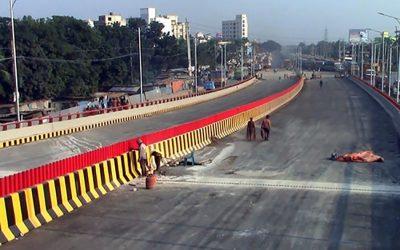 6車線高架道路開通