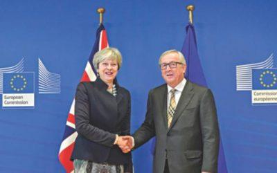 英国とEU、デッドロック後のBrexit契約締結