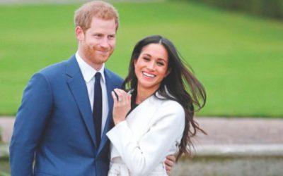 ハリー王子、5月19日に結婚するメーガン
