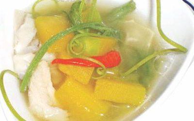 冬のスープ
