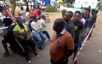 リベリア人選挙で新大統領を選出