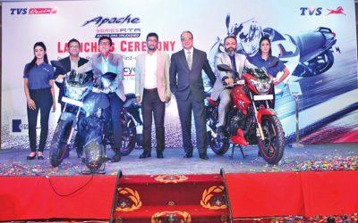 TVS Auto Bangladesh Limited、TVS Apache RTR 160オートバイを発売