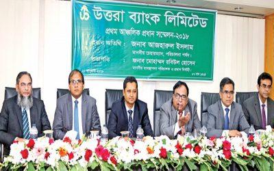 Uttara Bank Limitedの第1回地域首脳会議 –  2018年