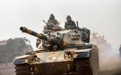 トルコ、クルド人民兵に対する攻撃を強化
