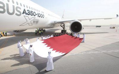 カタール航空の最初のエアバスA350-1000が2月15日から20日に納品される、CEO