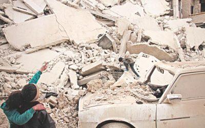 シリアで30人の民間人を殺害するロシア制裁
