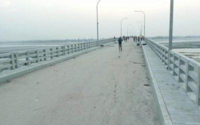 Dharlaの別の橋が開通を待っている