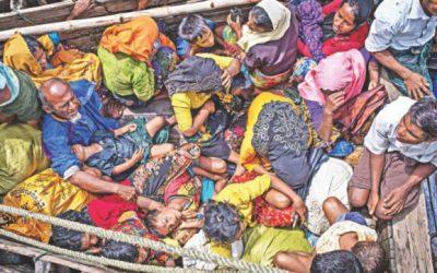 Rohingyasは保護を必要とし、Bashan Charへの移住はしない