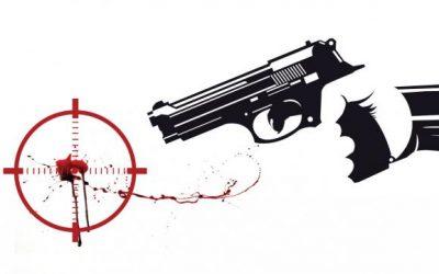 「銃撃戦」で殺された殺人事件