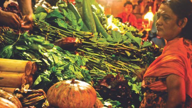 農家の市場で金曜日