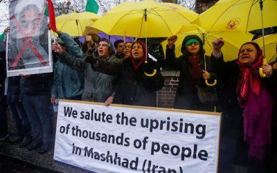 イランの不安定な夜間に10人の死者が死亡