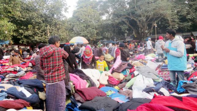 バイヤーと暖かい服市場の流行