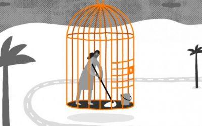 虐待された女性移住労働者