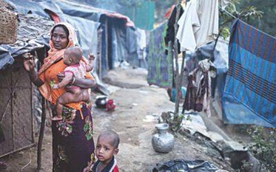 Rohingyaの女性の不確実な運命