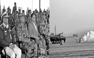 NoakhaliのSwarna Dweepでのバングラデシュ軍の行使