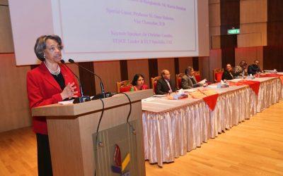 バングラデシュ駐日米国大使Marcia Stephens Bloom Bernicatの演説