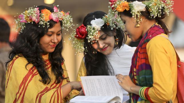 人生の彩、ベンガルの春
