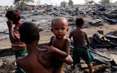 ミャンマー、証拠隠す