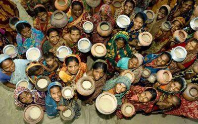 500万人の極貧層に10タカ米